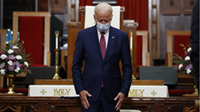 Joe Biden Campaigns on Faith