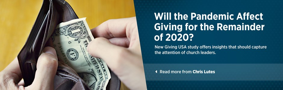 Will the Pandemic Affect Giving for the Remainder of 2020?