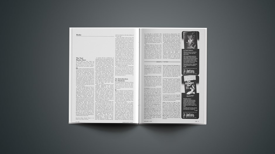 Book Briefs: January 27, 1978