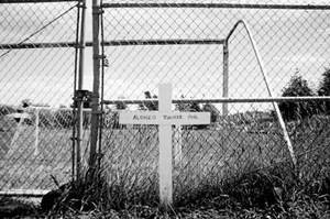 Alonzo Tucker memorial in Coos Bay, Oregon.