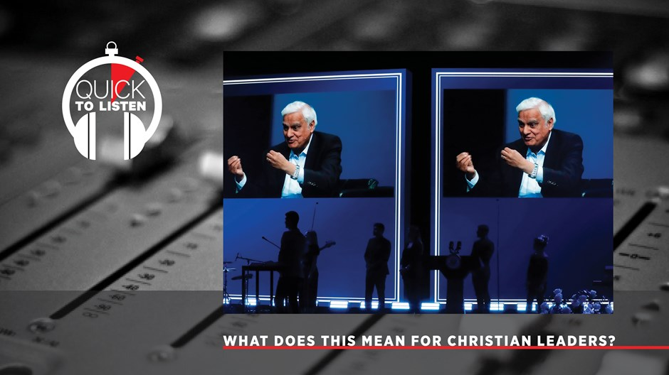 After the Allegations Against Ravi Zacharias