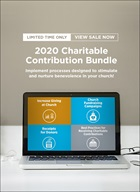 2020 Charitable Contribution Bundle