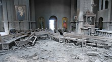 Symbolic Armenian Church Shelled in Clashes with Azerbaijan