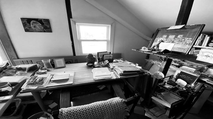 How and Where I Write: Makoto Fujimura