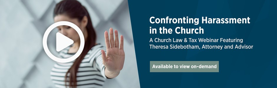 Confronting Harassment in the Church