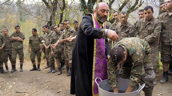 Foxhole Faith in Nagorno-Karabakh
