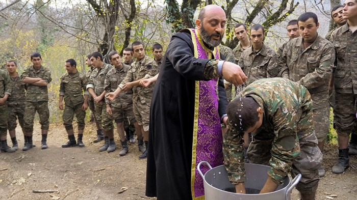 Foxhole Faith in Nagorno-Karabakh