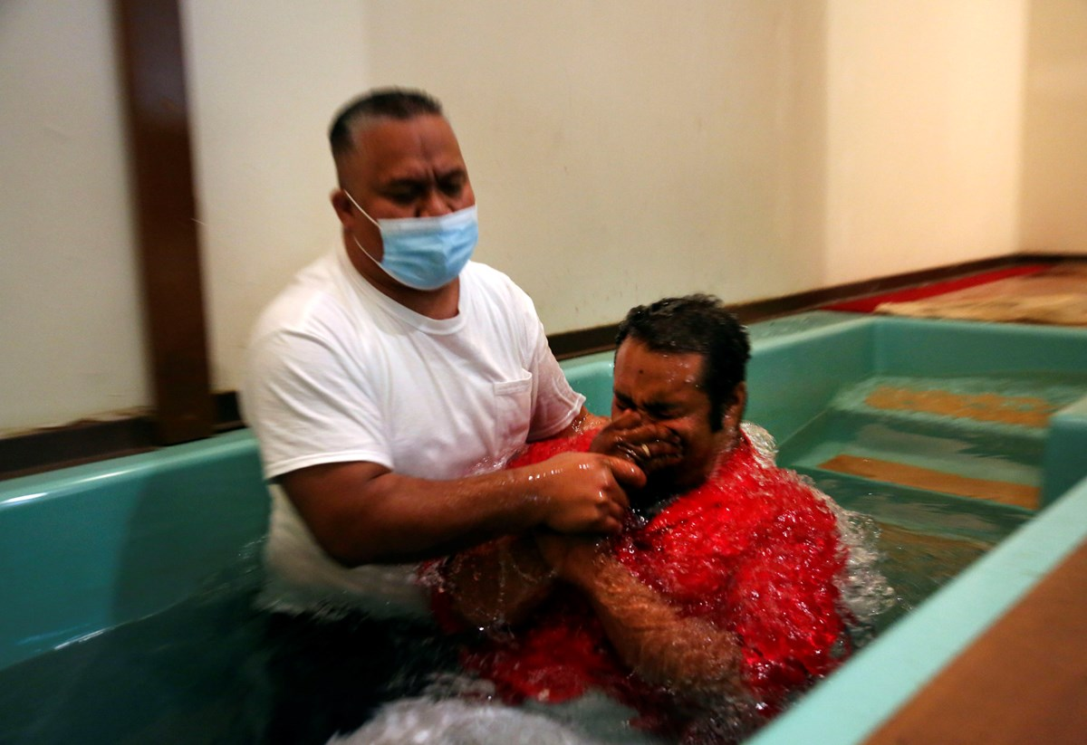 Five immigrant congregations meeting at Community Baptist baptized an estimated 50 people in a three-month span.