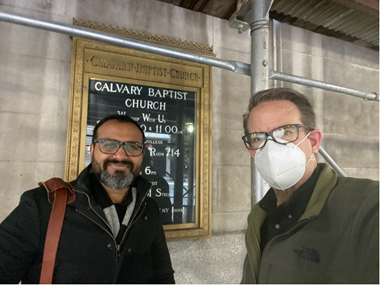 Ed Stetzer and Dr. A.R. Javed