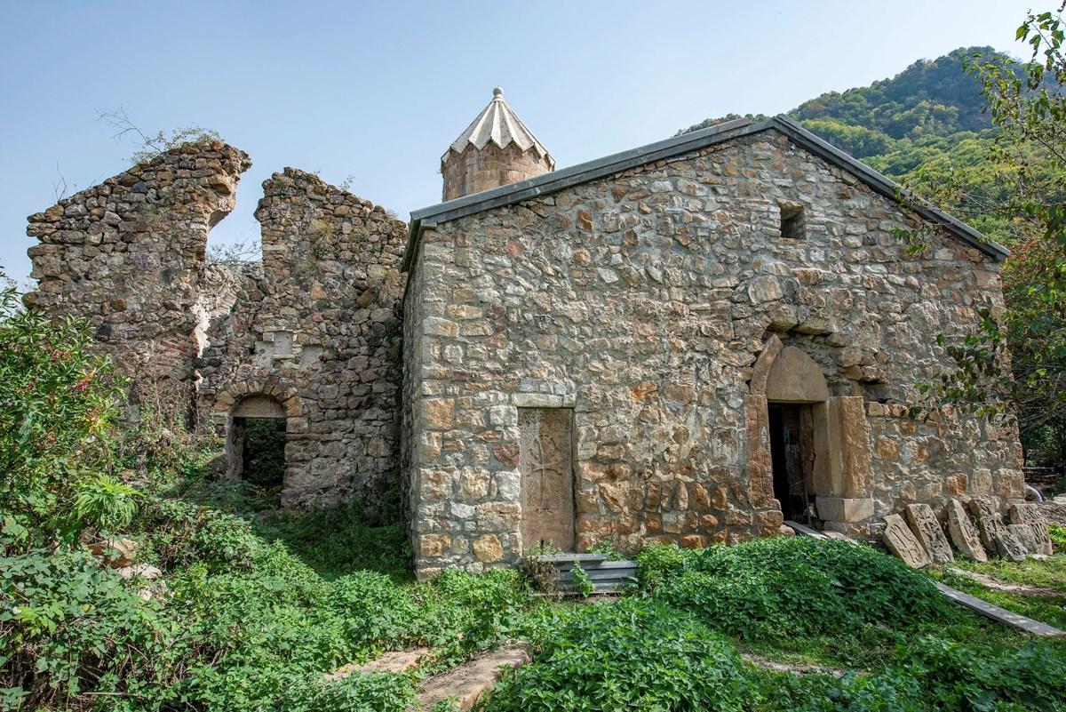 Ktich Monastery in Nagorno-Karabakh