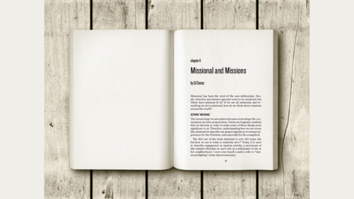 Missions and Missional: Remembering History
