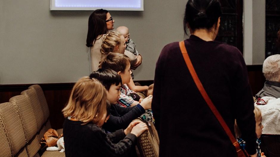 For Churchgoing Families, More Kids Aren't a Burden