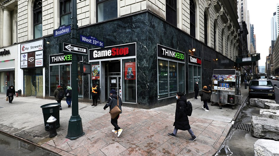 In the GameStop Frenzy, What If We're All the 1 Percent?