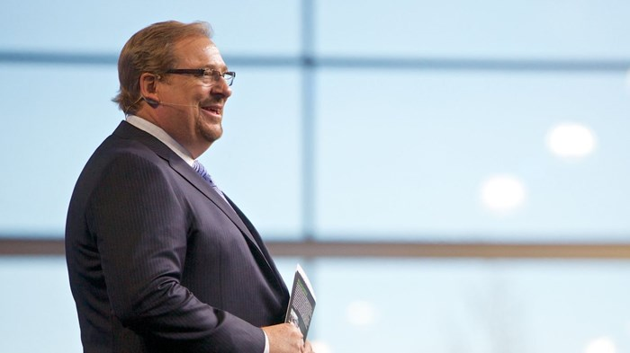 Rick Warren Apologizes for Saddleback Clip With 'Demeaning' Asian Caricature