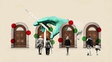 On dos o més es vacunen: consells per a les esglésies l'any 2021