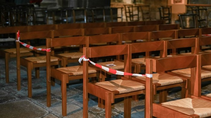 Fewer Churches Held In-Person Services in January