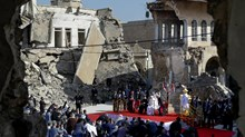At Mosul Church, Pope Asks Iraq's Christians to Forgive ISIS and Rebuild