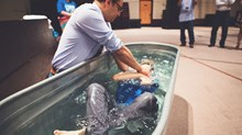 Churches Plunge Ahead with Easter Baptisms