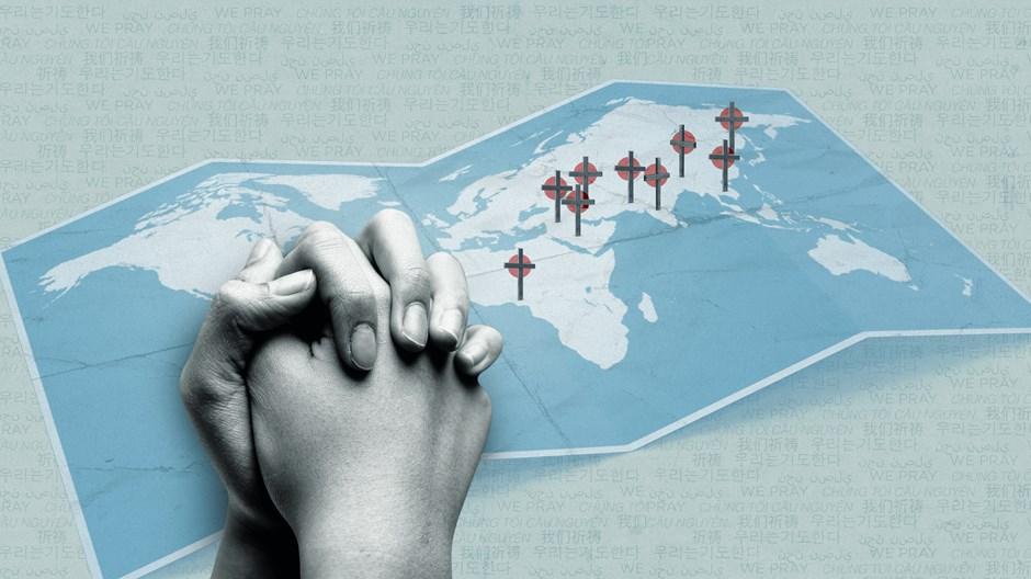 Prières et louanges des pays où il est le plus difficile d'être chrétien