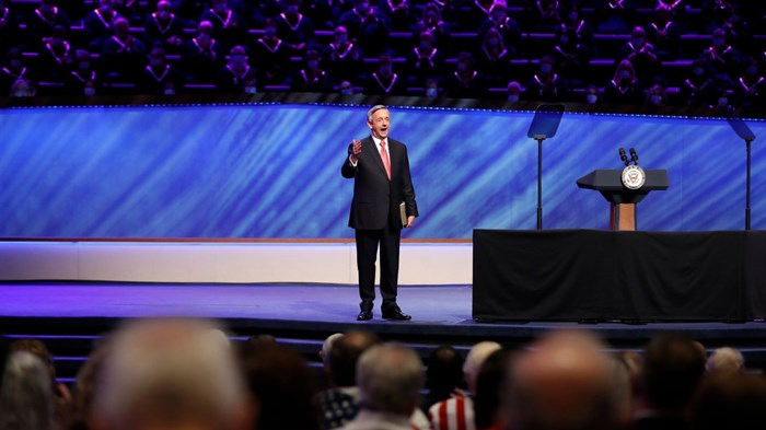 Evangelicals' Vaccine Skepticism Isn't Coming from the Pulpit