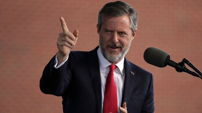 Liberty Sues Jerry Falwell Jr. for $10M Over Sex Scandal