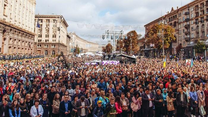 Evangelicals Split Up in Politics to Keep Ukraine Conservative