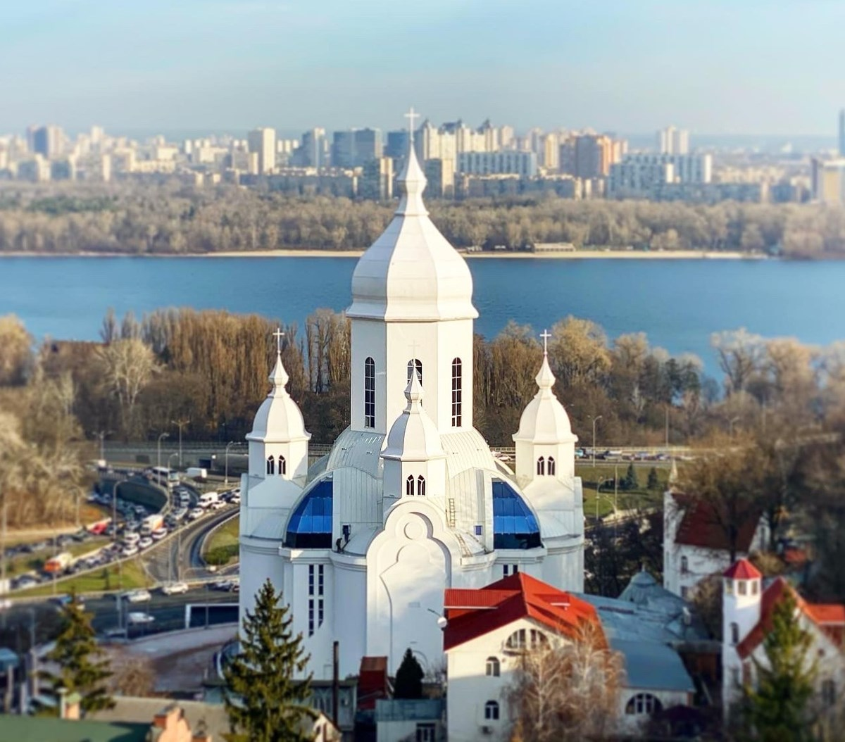 This newly completed Baptist church, Temple of Peace, in downtown Kyiv hosted the third All-Ukrainian Forum of Christian Political Leaders on January 22.