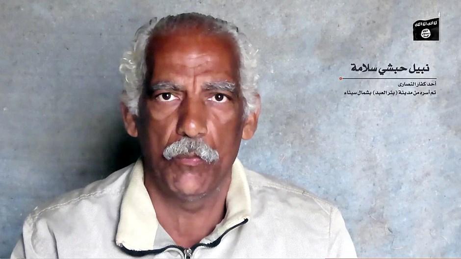 ISIS处决在埃及西奈半岛遭绑架的基督徒商人