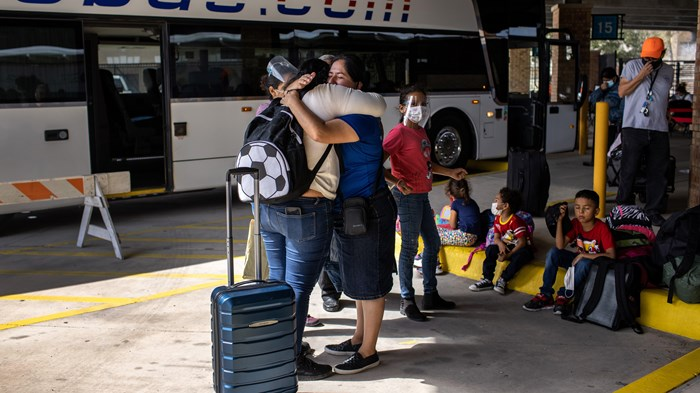 Thanking God for Miracles, Asylum Seekers Enter US