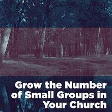 Grow the Number of Small Groups in Your Church