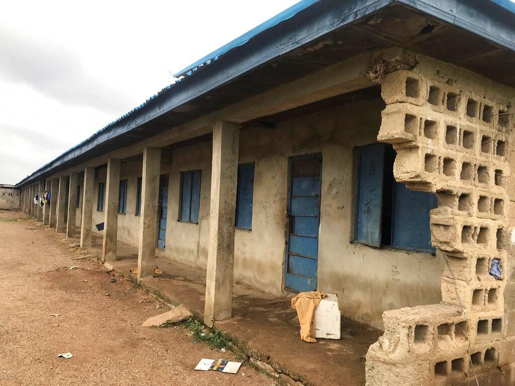 The Bethel Baptist High School hostel for male students following an attack by gunmen in Damishi Kaduna, Nigeria, on July 6.