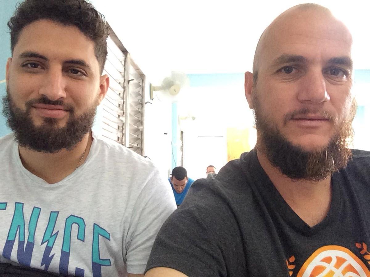 Detained Baptist pastors Yarian Sierra Madrigal and Yéremi Blanco Ramírez.