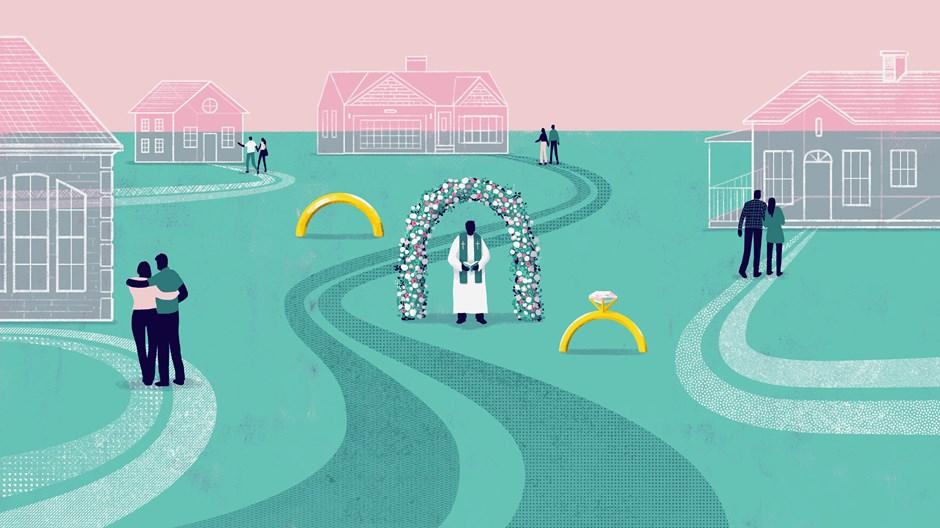 美国牧师们应对同居问题进退两难