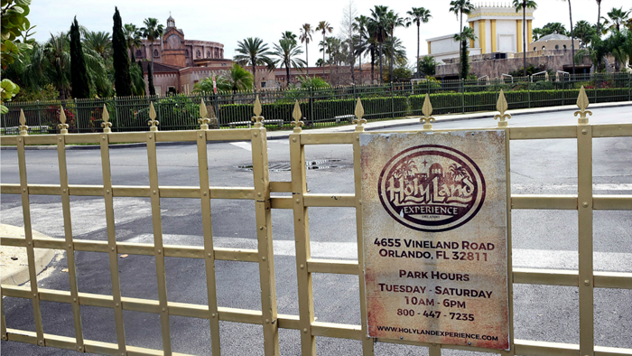 The Holy Land Experience Never Made It to the Financial Promised Land