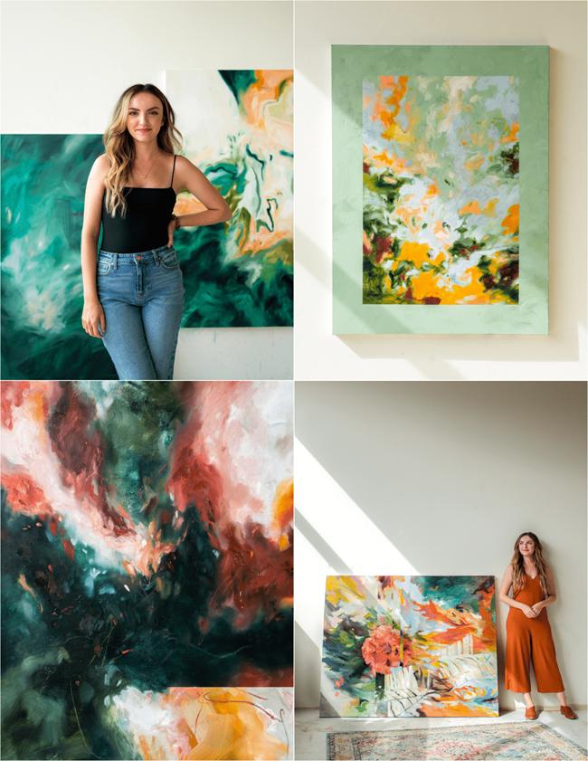 Kaitlyn Rose Paintings