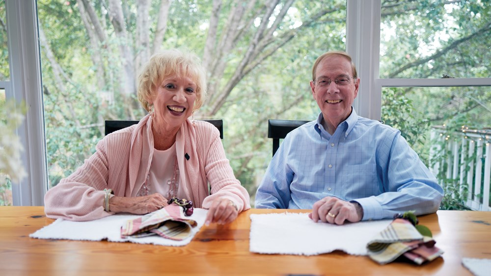 Gary Chapman and his wife, Karolyn, celebrated 60 years of marriage in August.
