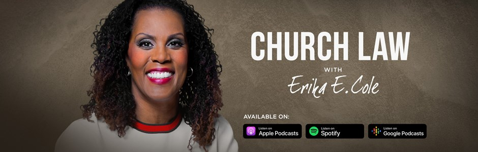 Church Law podcast with Erika Cole