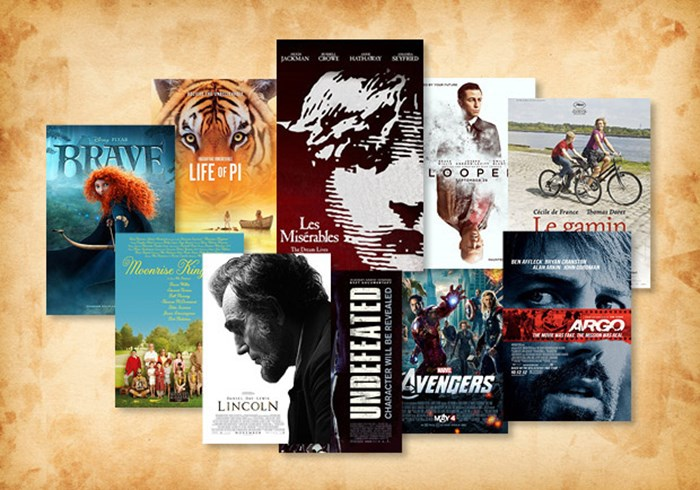 The Most Redeeming Films of 2012