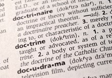 Who Defines Doctrine?