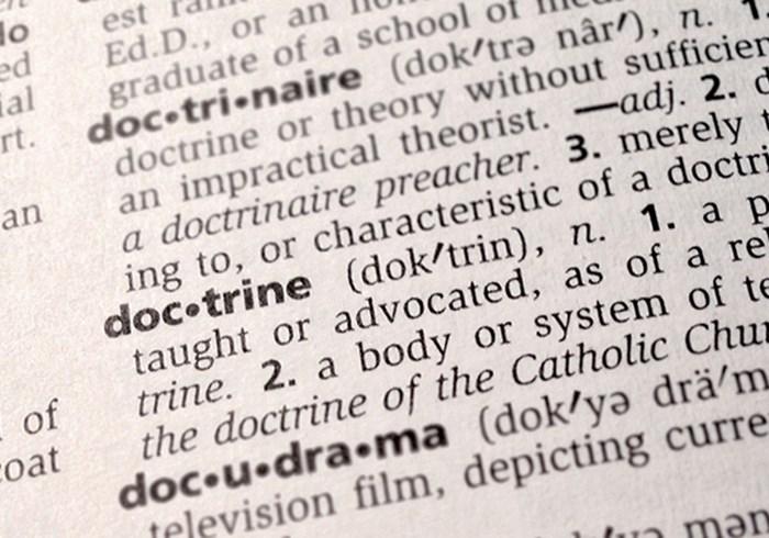 Who Defines Doctrine?