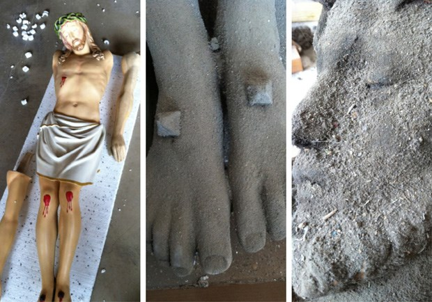 Why a Wheaton College Professor Smeared Jesus in Human Dirt