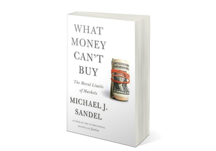 Dollars and Moral Sense: What Money Can't Buy