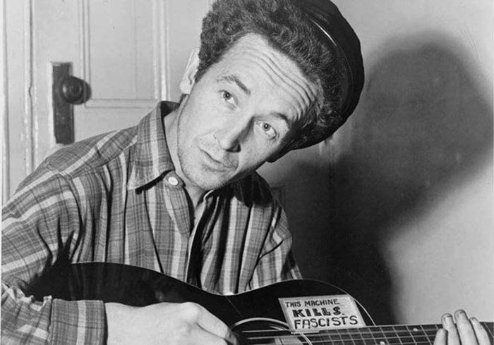 Woody Guthrie's God and Country