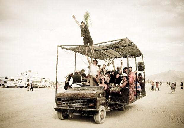 Finding Jesus at Burning Man
