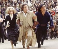 Cecile de France, Steve Coogan, and Jackie Chan