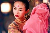 Zhang Ziyi plays the beautiful Mei