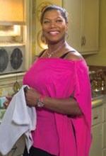 Queen Latifah plays Gina, who runs the beauty shop