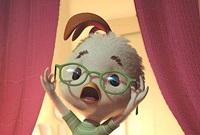 Chicken Little (voiced by Zach Braff) is convinced the sky is falling