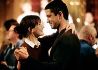 Emily Mortimer as Lizzie and Gerard Butler as The Stranger