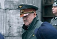 Swiss actor Bruno Ganz is chilling in the role of Hitler